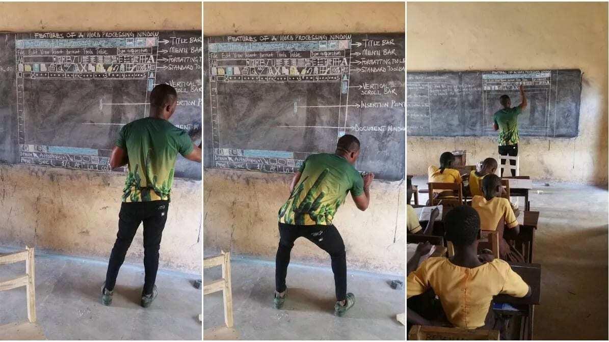 Ghanaian 'blackboard ICT teacher' gets standing ovation in Singapore