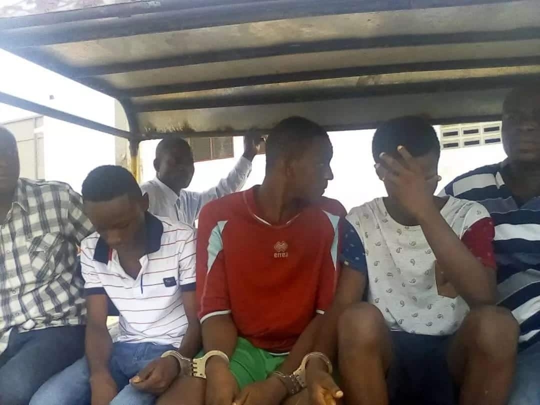 4 teenagers arrested for defiling girl at Kumasi to spend new Year in jail
