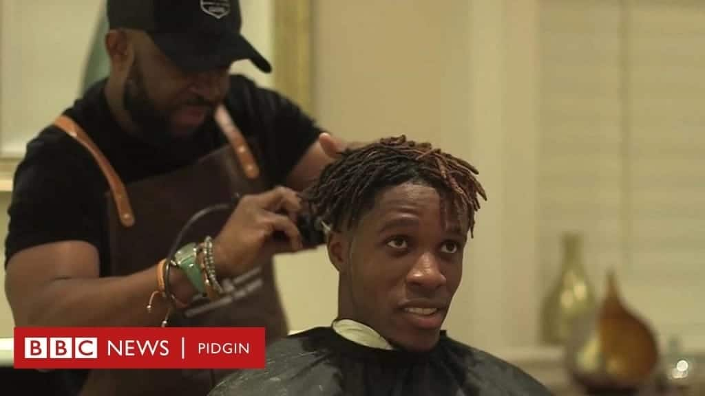 Celebrity Ghanaian barber donates to Osu Children's Home