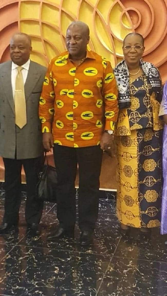 Photos show Mahama looking dapper in African print as he heads meeting of ECOWAS Observer mission