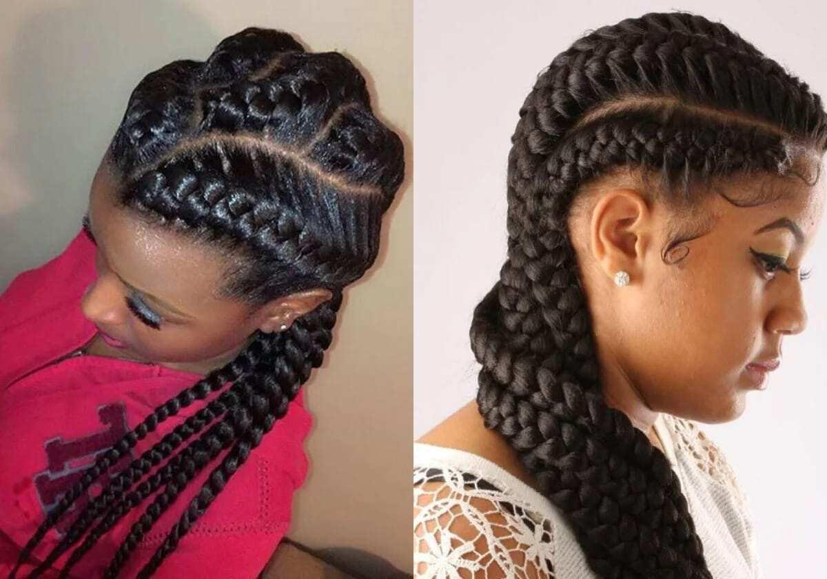 3 Goddess Braids Hairstyles: 20 Cute Goddess Braids Hairstyles YEN.COM.GH