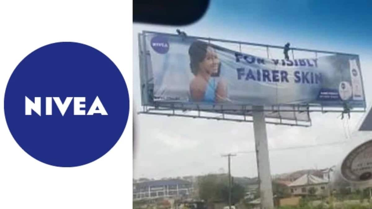 Nivea begins taking down controversial billboards
