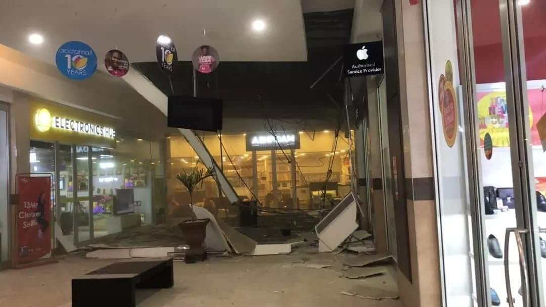 President Akufo-Addo expresses concern over collapse of Accra Mall ceiling
