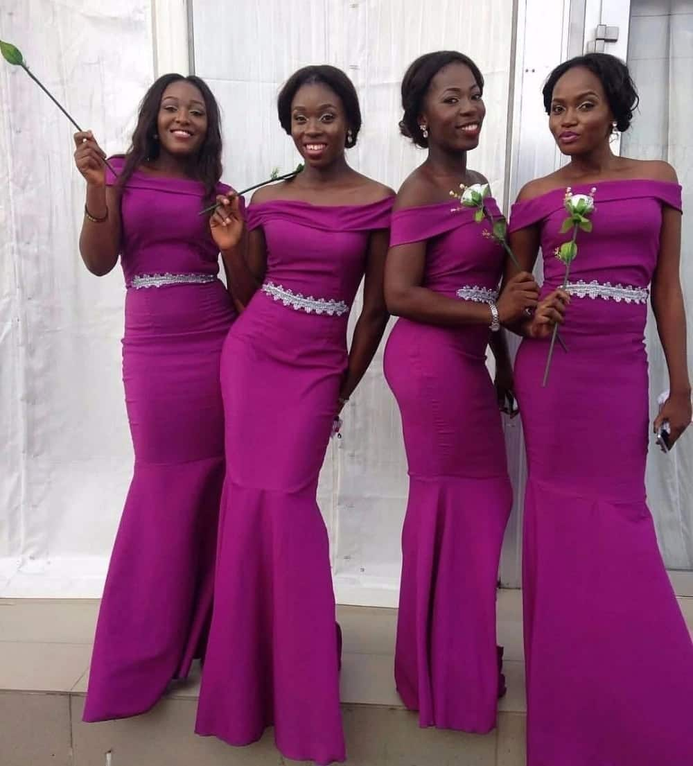 Perfect wedding colours combinations in Ghana