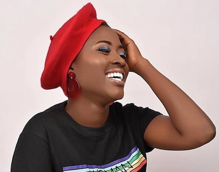 Throwback photos of Fella Makafui and her 'SHS boyfriend' cause stir on social media