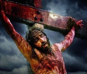 A photo of Jesus Christ on the cross