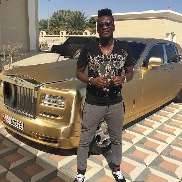 Asamoah Gyan's expensive car
