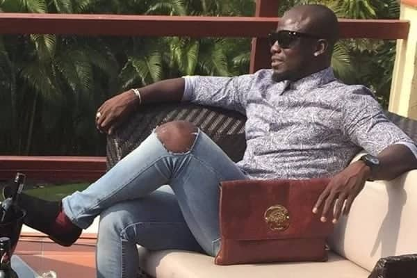"Stephen ""Capito"" Appiah shares adorable family photo on social media"