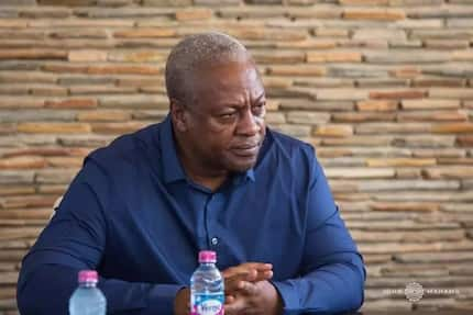 Things like this should not happen - Mahama breaks silence on Ahmed's death