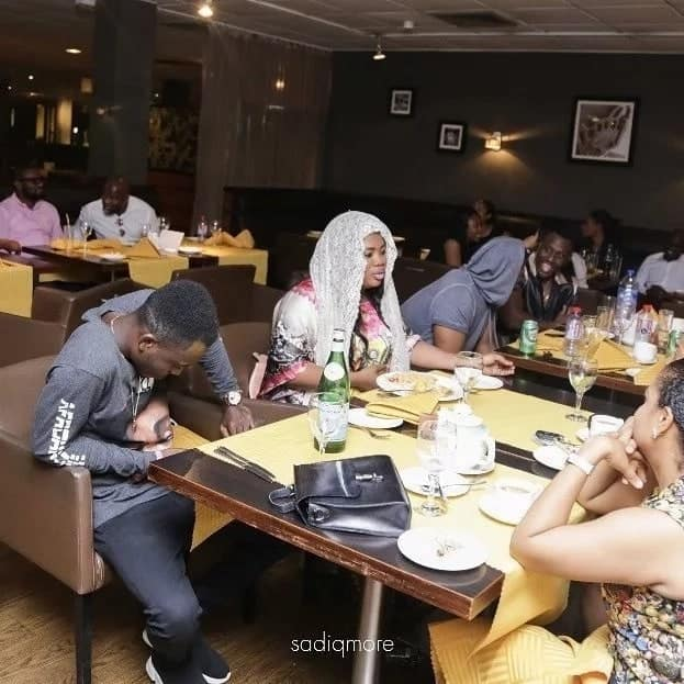 How fred Nuamah celebrated his fiancee's birthday