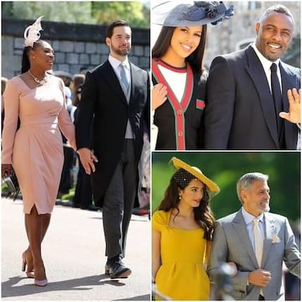 10 glamorous photos of the world's celebrities captured at the Royal Wedding