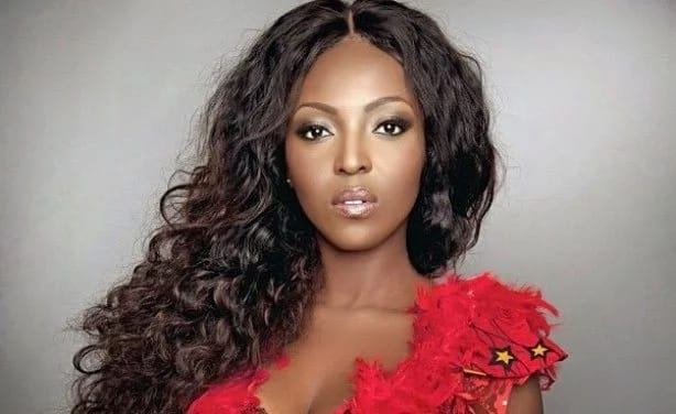 Yvonne Okoro: Actress upset on TV after being questioned on relationship with Chris Waddle