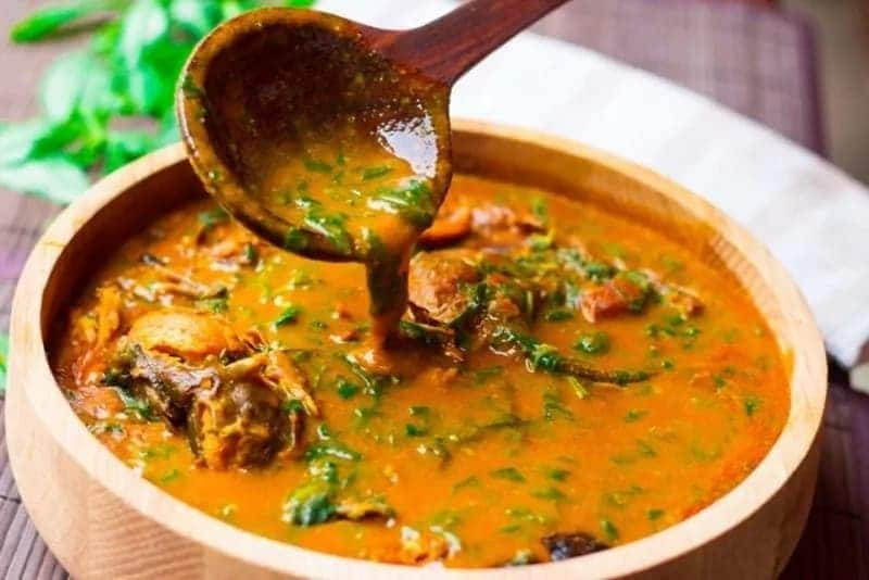 How to prepare groundnut soup in Ghana