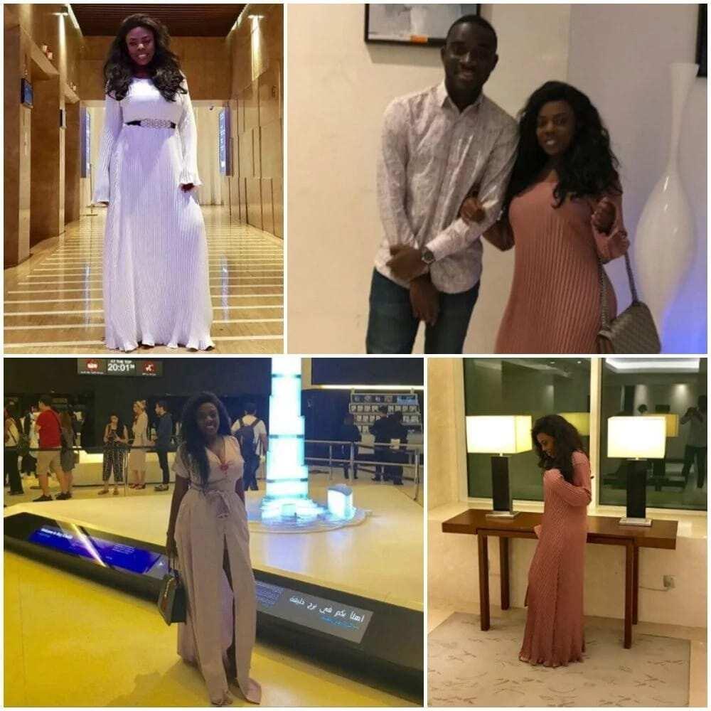 PHOTOS: Nana Aba and Kalybos Dubai Trip