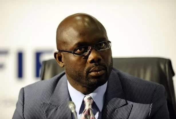 George Weah, the new President of Liberia