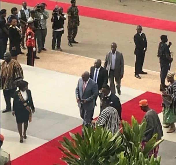 Mahama, Rawlings appear for crucial state of nation address