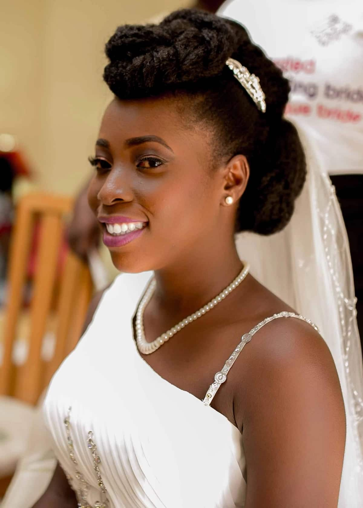 bridal hairstyles in ghana, ghanaian hairstyles, wedding hairstyles in ghana