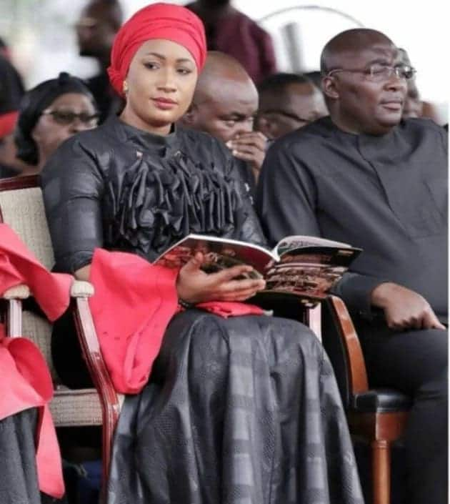 Samira Bawumia's dazzling outfit to the late Asantehemaa's funeral