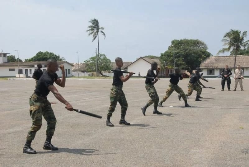 Ghana soldiers' salary