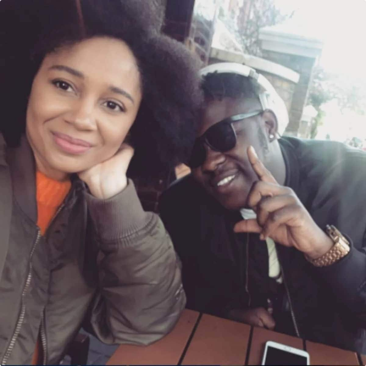 Deborah Vanessa wrms social media with lovey-dovey picture with her boyfriend Medikal