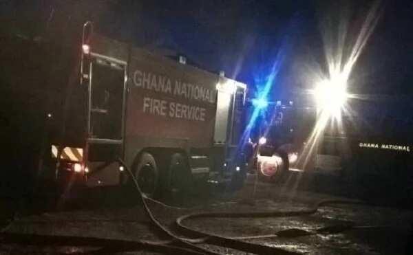 Fire engulfs parts GBC station