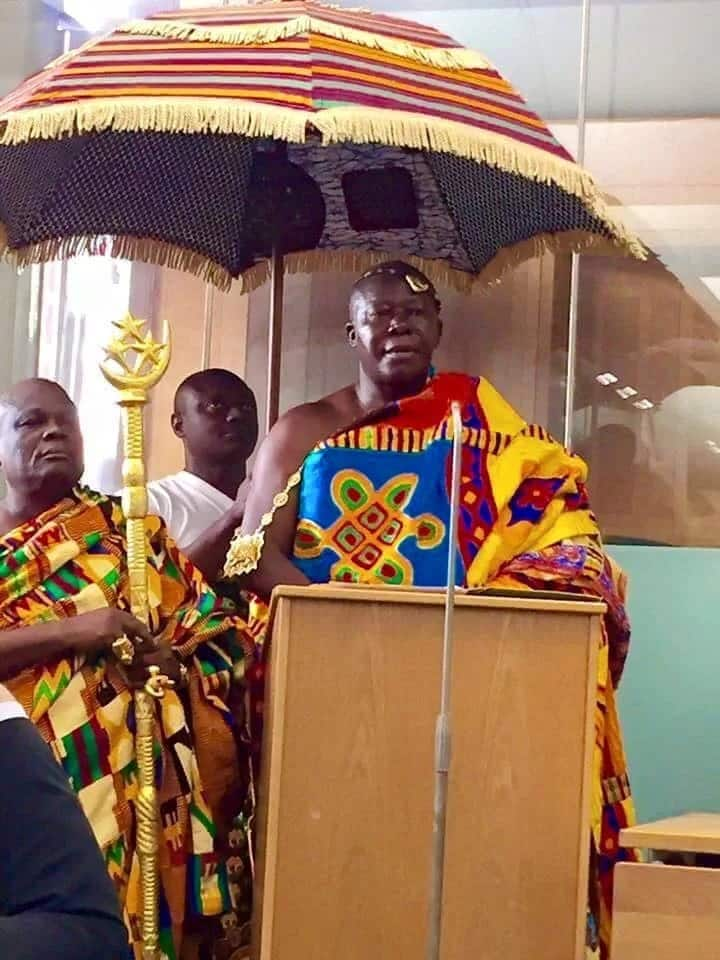 Asantehene questions Ghana's justice delivery