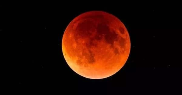 How does lunar eclipse happen and how often does it occur?