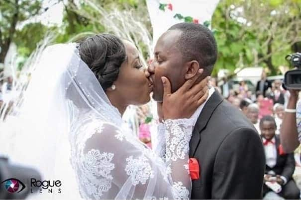 Ghanaian celebrity wedding kisses that will wow you