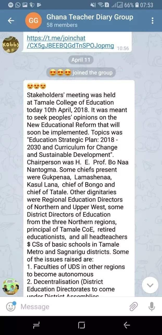 List of 10 Popular Telegram Channels in Ghana ▷ YEN COM GH