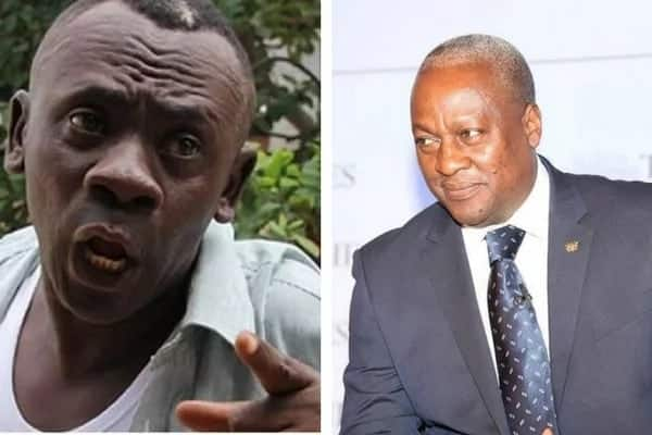 Kumawood actor Akrobeto blames John Mahama for the industry's failures