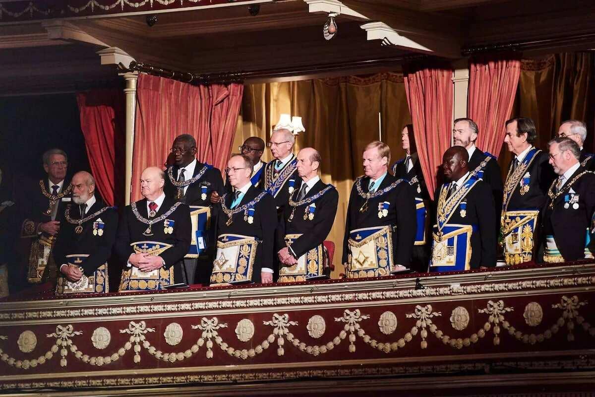 John Kuffuor, Asantehene attend Grand Freemasons meeting in London