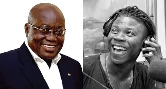 Stonebwoy reaches out to Akufo-Addo; requests for a gift just as Shatta Wale did