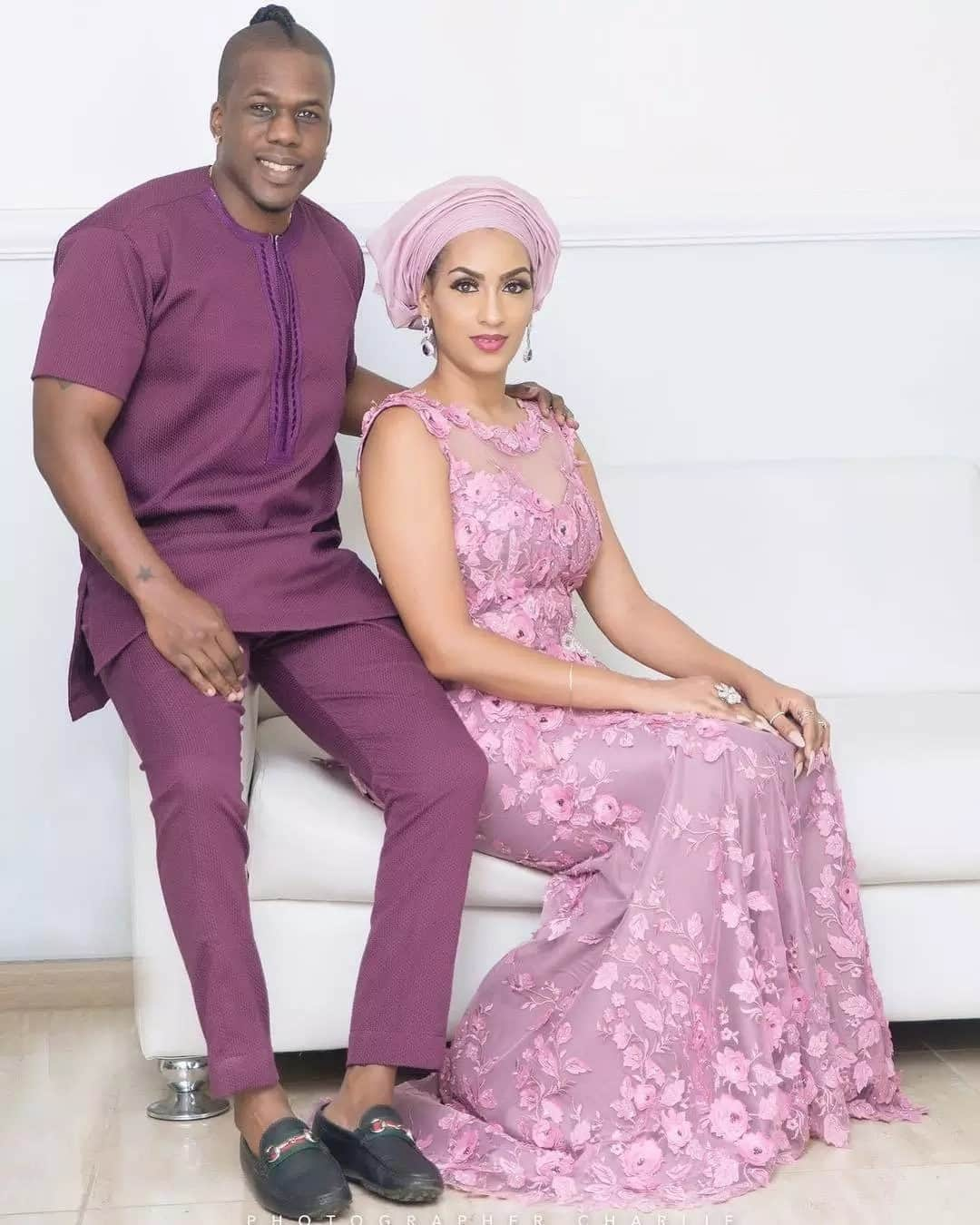 Juliet Ibrahim and beau win couple goals at Banky W's traditional marriage ceremony