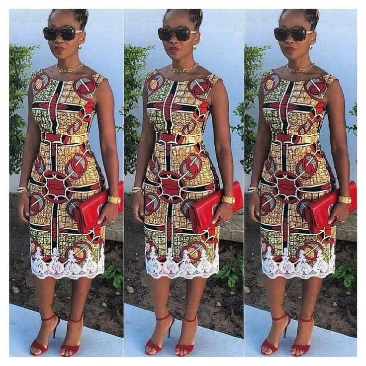 african print styles styles of african print dresses african print straight dress