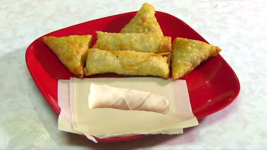 How to make spring rolls in Ghana