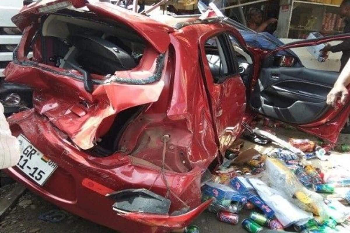 Tragic accident claims life of pregnant woman, twin babies and others in Brong Ahafo