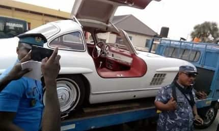 Video, more photos of the $3.2m Mercedes Benz cars seized by CEPS