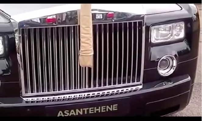 Photos of the cars that the Asantehene rides in
