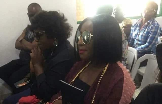 Nollywood actors troop to show support at Eucharia son's funeral (Photos)