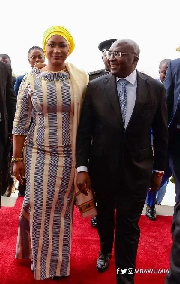 Samira Bawumia was with her husband, Dr Mahamudu Bawumia for the 2018 SONA