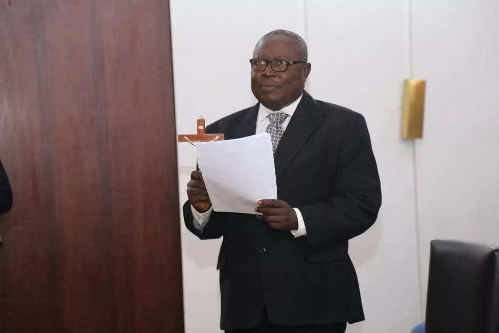 Akufo-Addo swears Martin Amidu in as Special Prosecutor