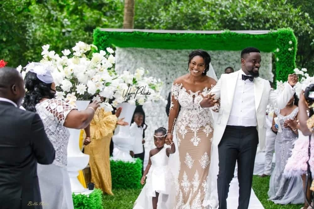 Sarkodie and Tracy love story