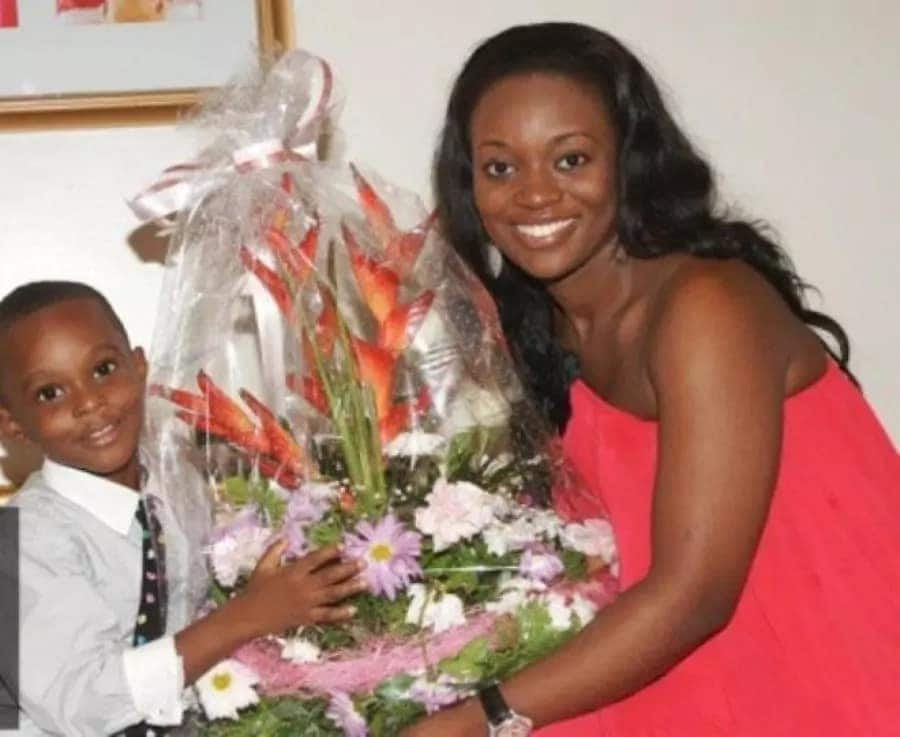 Image result for Jackie Appiah son