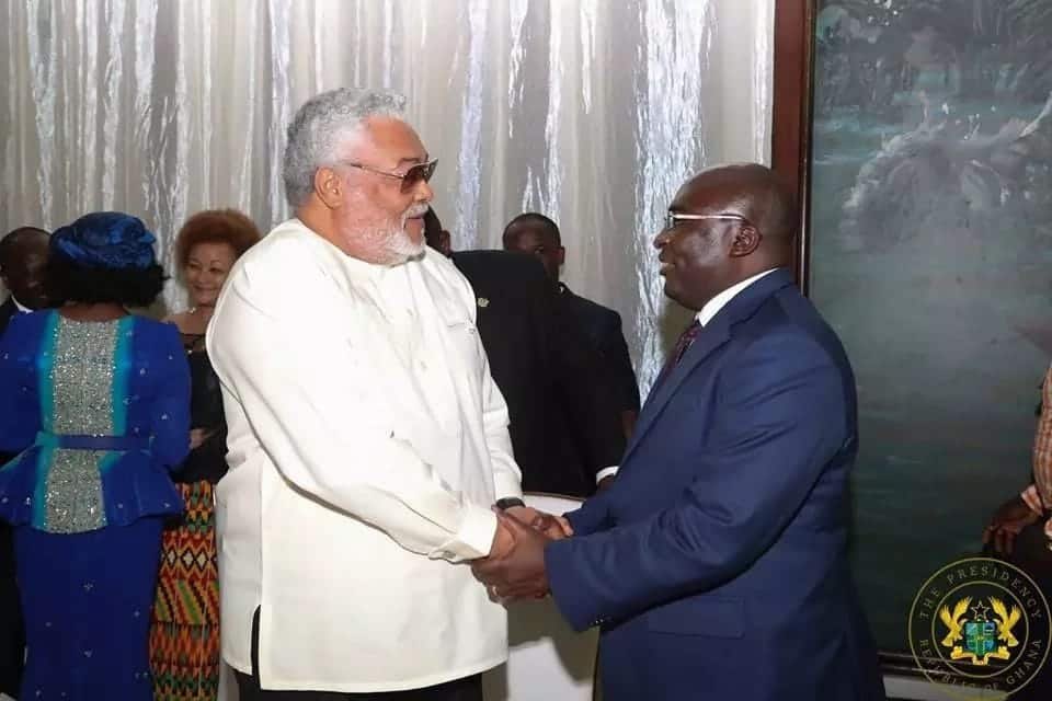 Rawlings is chilling with NPP and former NDC minister is jealous