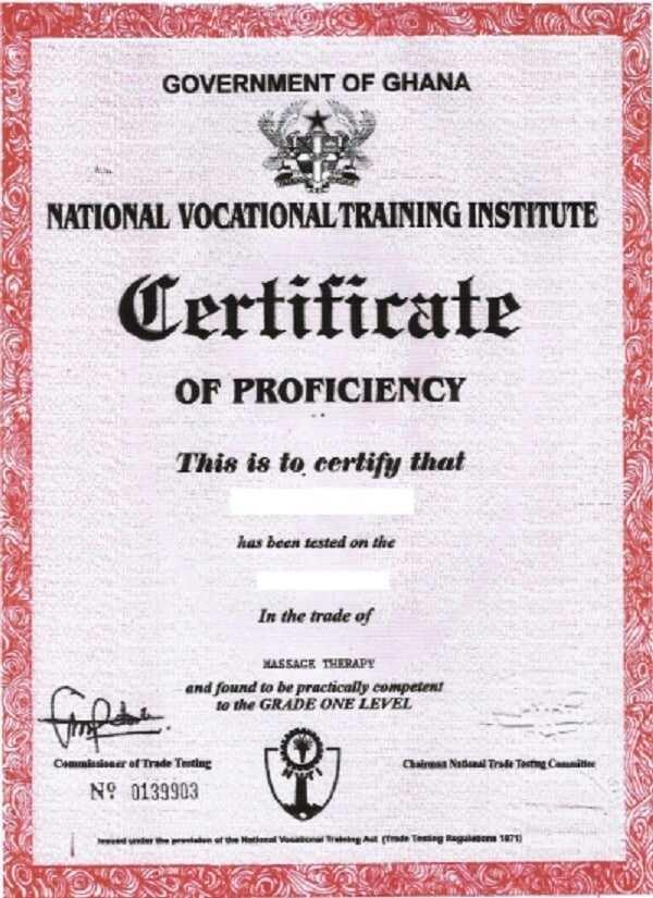 NVTI courses in Ghana