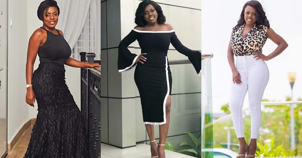 Nana Aba Anamoah offers job to talented security man with exceptional radio-presenting skills