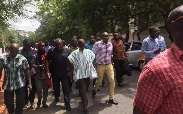 Police storm Anyidoho's residence after arrest