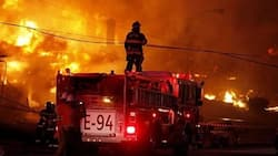 Fire destroys equipment at a radio station; Fire Service begins investigations