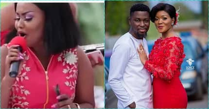 VIDEO: Nana Ama Mcbrown totally rocks A Plus' wedding while performing Tekno's 'Pana'