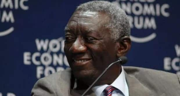 Kufuor reveals why he didn't give any advise to Mills, Mahama